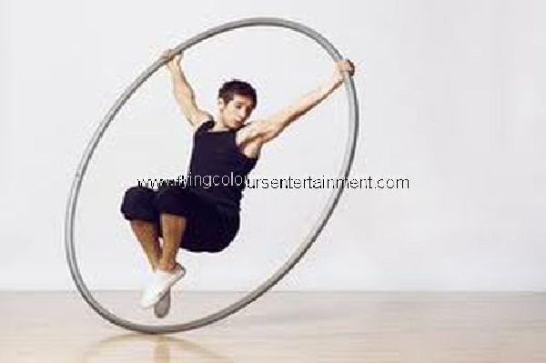 Cyr Wheel Act & Performers