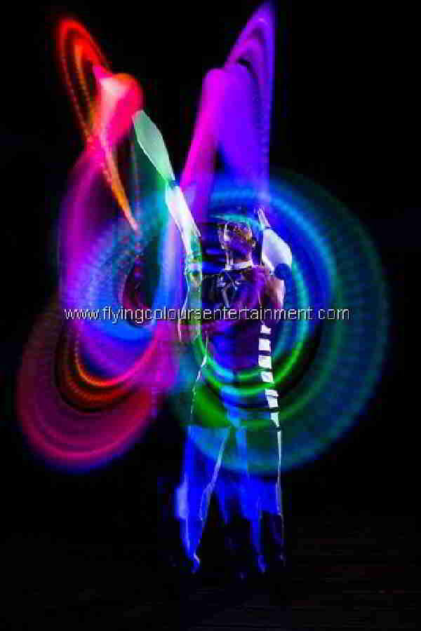 Acts For Any Event - Glow LED Jugglers
