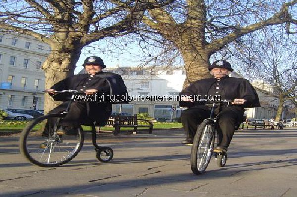 Penny Farthing Riders