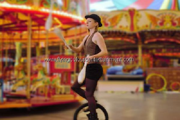 Unicyclist Act & Entertainer