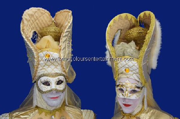 Masked Ball Venetian Acts & Entertainers
